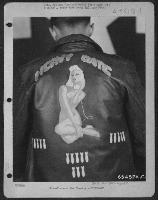 WW2 #bomber #jacket