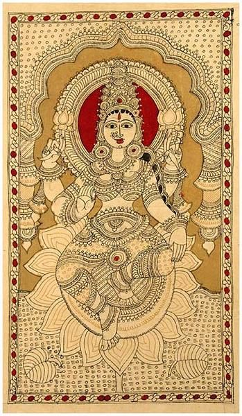 Indian Painting Styles...Kalamkari Paintings (Andhra Pradesh)-lakshmi1-11-.jpg