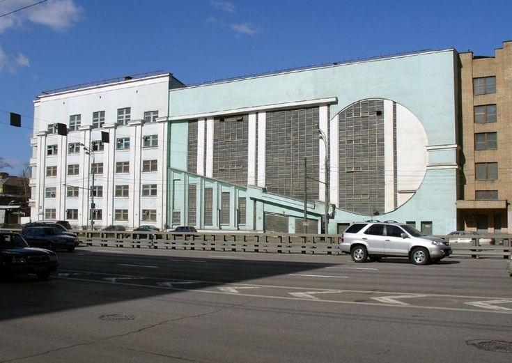 Melnikov garage intourist 1200px wide - Konstantin Melnikov - Wikipedia, the free encyclopedia