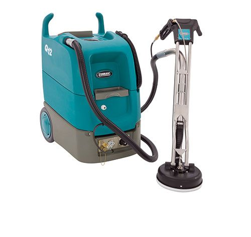 Demo Tennant Q12 Multi Surface Cleaning Machine Grout Cleaner