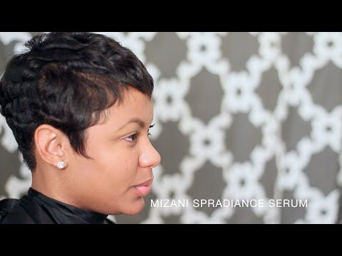 How I Style My Pixie Cut. Featuring Hairstylist Aisha Ebony - YouTube