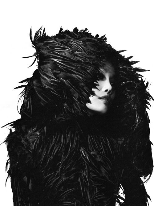 Lee Mcqueen, Feathers Feathers, Mysterieux Monde, Feathers Flock, Black Swan, The Mode, World, Alexander Mcqueen Oooh, Gothic Fashion