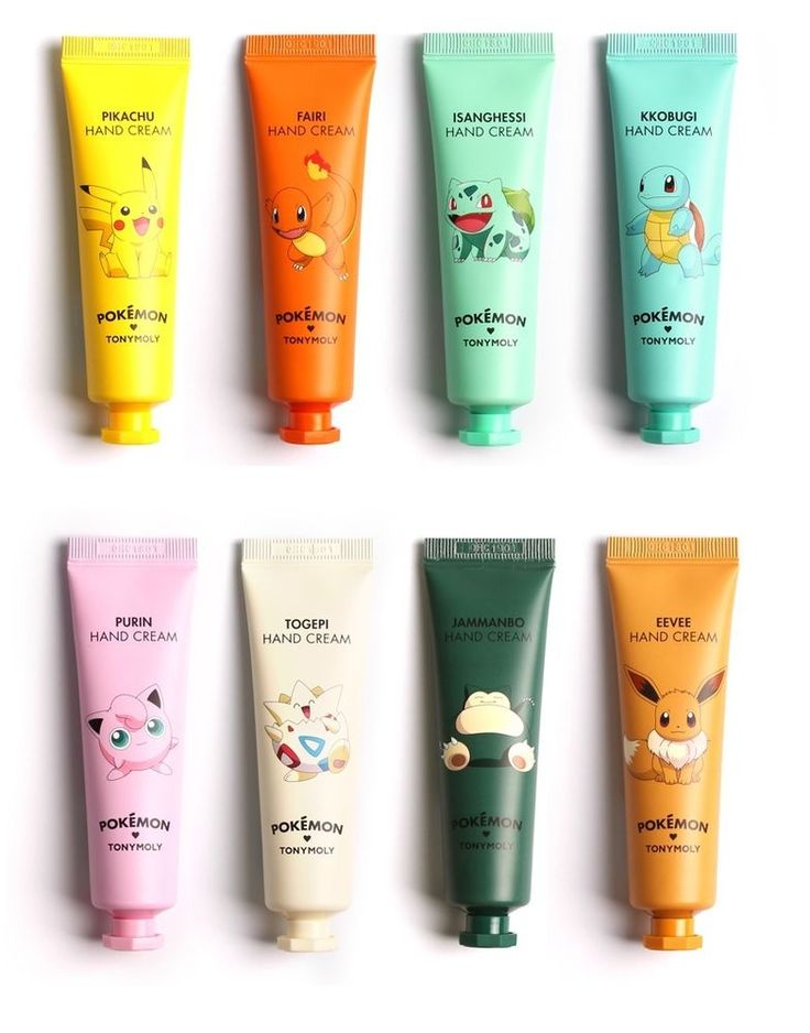 Tonymoly Pokemon Hand Cream (30ml) 8 Types #Tonymoly