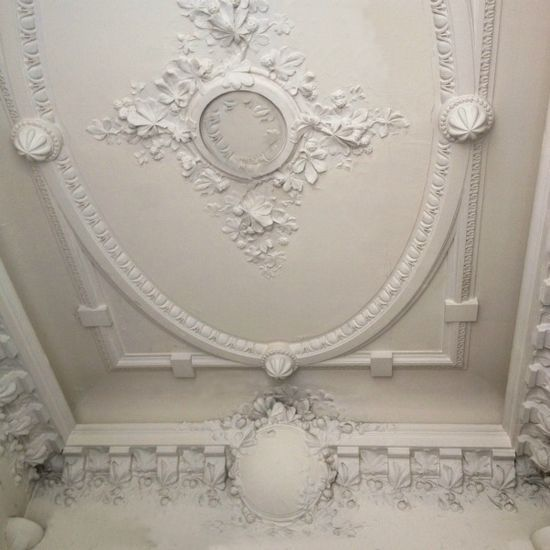 Ceiling detail--Hausmann building by FleaingFrance