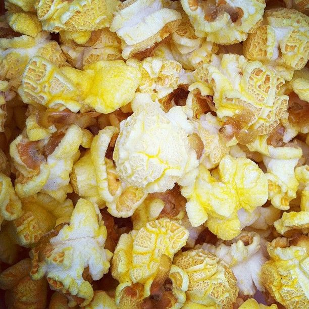 popcorn! with extra extra extra butter...just like hubby likes it! Cinemark Theatre here we come!!