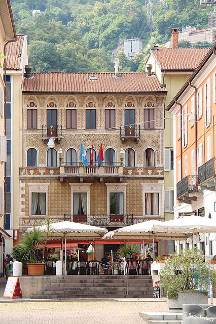 Locarno, Switzerland - Come visit the Italian Region of Switzerland! #Yamadu for your vacation rental in Ticino https://www.yamadu.it