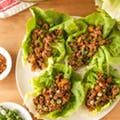 How To Make Chicken Lettuce Wraps - Recipe (We used fried extra firm tofu instead and ate in summer rolls)
