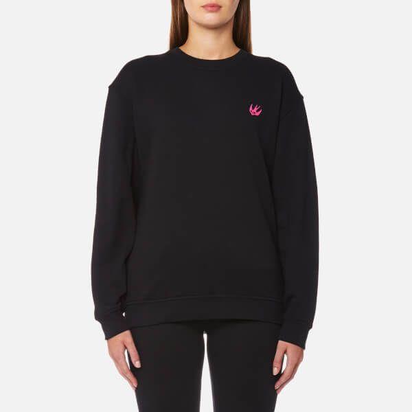 McQ Alexander McQueen Women's Classic Swallow Sweatshirt - Darkest Black