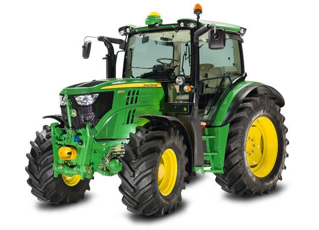 Tracteur JohnDeere 6125R série 6R