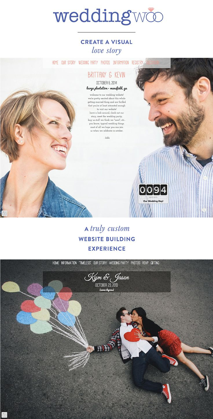 I love the part of my job where I get to introduce you allto fabulous vendors making wedding planningthat much easier. Case in point:WeddingWoo. Offering couples unique wedding websites that showcase their engagement photos, these stunning + customizable sites are seriously amazing. WeddingWoo lets you tailor the look and feel of your site so you…