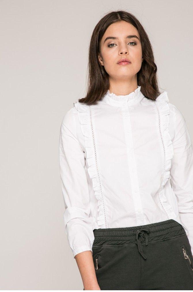 Bluzki i koszule Koszule z długim rękawem  - Answear - Koszula Wild Nature