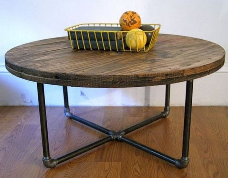 17 beautiful and unique round diy coffee table designs