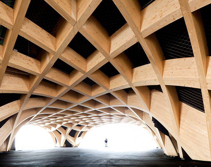 Franska paviljongen av Agence XTU. Foto Andrea Bosio.