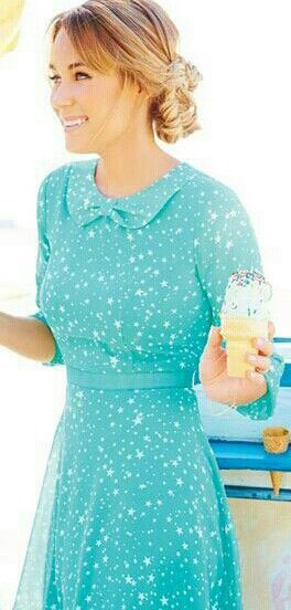 #Modest doesn't mean frumpy. #DressingWithDignity www.ColleenHammond.com: