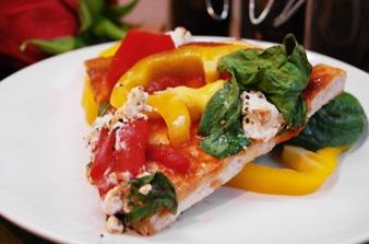 Love Vegetarian Bistro Pizza