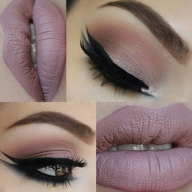 I love the eyes but not the lips, nothing against matte lips! Just not a good…