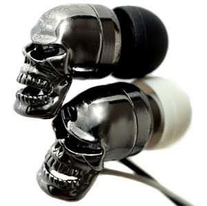 Ruffian Skull Headphones #skull #headphone #kysa