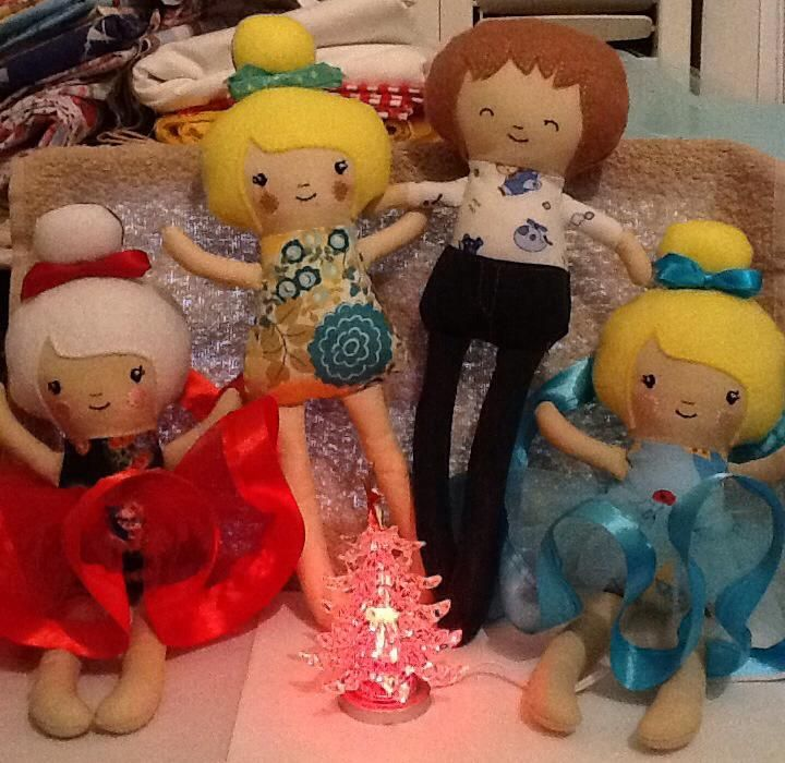 Dolls and Daydreams, In the Hoop dolls.