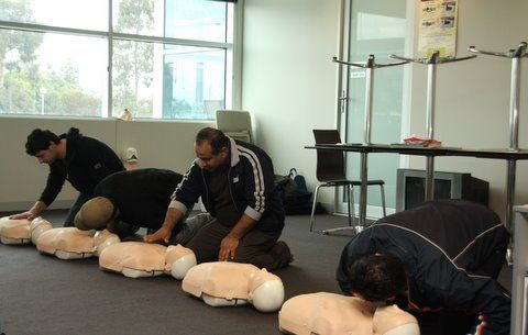 Professional Development - Annual First Aid Refresher Training    Crownland Security - 03 9306 4552 www.crownlandsecurity.com.au  Security guards, Security guard services Melbourne, Crowd controllers, crowd controllers Melbourne, Event Security