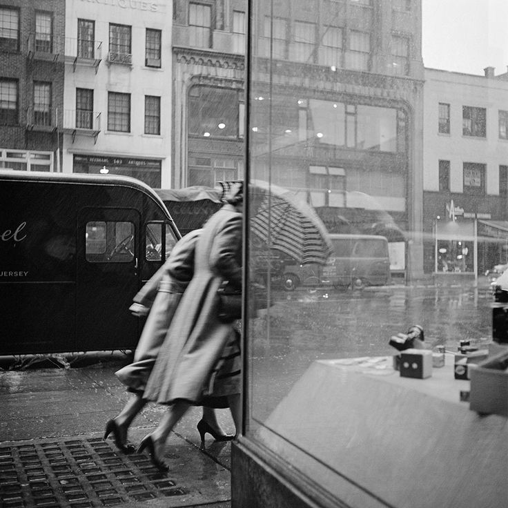 Vivian Maier. The thing is, her images just invite me to step into them. I feel like I'm right there watching it all happen and I think that's the secret when it comes to street photography.