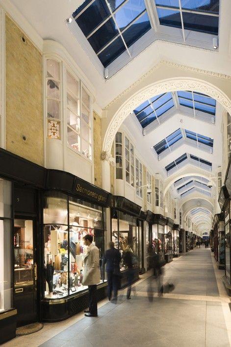 Burlington Arcade in Piccadilly, London, UK