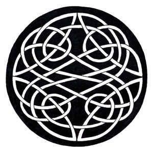 classic Celtic knot pattern