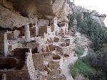 Cliff Palace in Mesa Verde, scariest place to get to, if you are afraid of heights and ladders, but wow if you can get there......