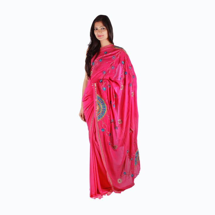 Designer Indian Wedding Bridal Engagement Sari Bollywood Heavy Work Saree #lehngasarees #SARI