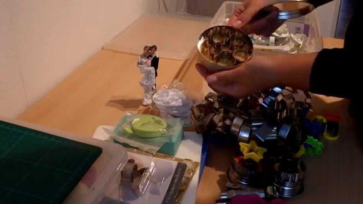 в этом видео я покажу мои инструменты, которыми я пользуюсь для мастики большой набор http://www.amazon.de/AUSSTECHER-Ausstechform-Modellierwerkzeug-Randverz...