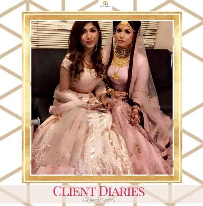 #StyleSellFamily #ClientDiaries- Become a #StyleSellBride. For pricing or order details, kindly send us a message in Facebook or visit our showroom.  Our Shop address: Showroom 1: South Avenue, Gulshan 1 (Just beside Gulshan 1 DCC Market on the main road). Showroom 2: Police Concord Plaza, Level 1, Shop no: 234, StyleSell. Helpline: 04478787877 #fashion #style #clothing