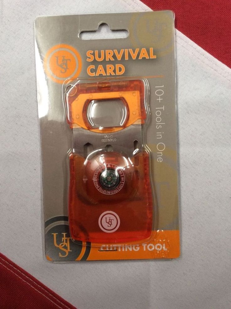 Survival Card 10 tools in one emergency prepare disaster equipment UST GIFT #UST
