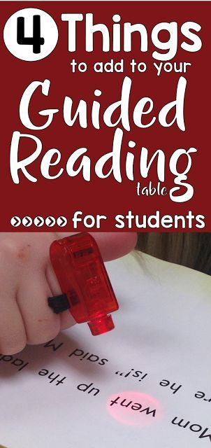 Guided Reading: How to get students excited about it! |