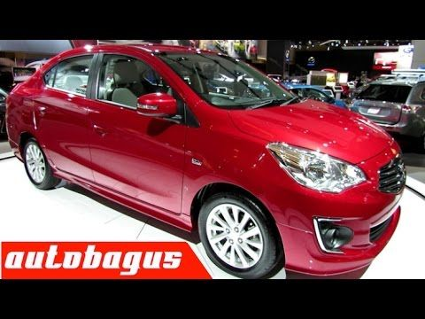 2016 - 2017 Mitsubishi Attrage Mirage Sedan ~  Exterior and Interior Wal...