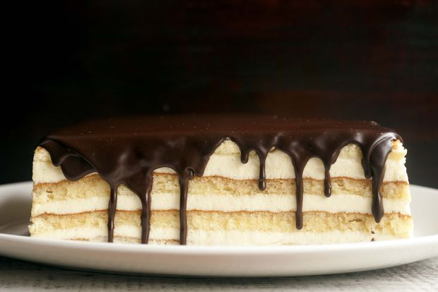 Boston Cream pie via Food52