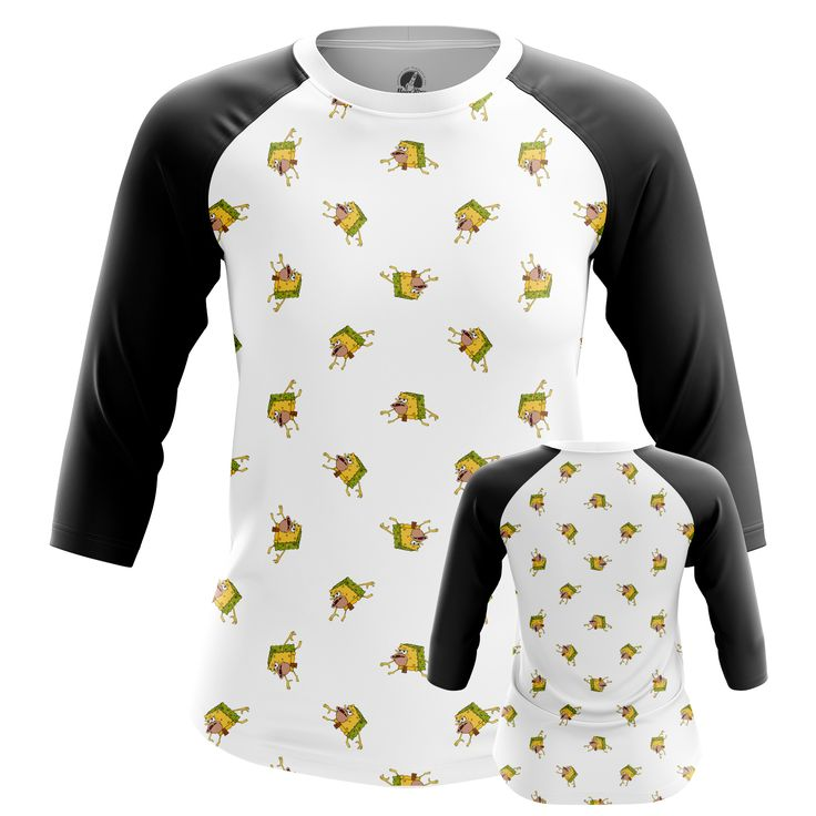 nice Girls Raglan Primitive Sponge Internet Humor Sponge Bob Merchandise Check more at https://idolstore.net/shop/apparels/girls-raglan-primitive-sponge-internet-humor-sponge-bob-merchandise/