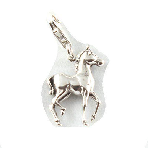 Charm School UK - Sterling Colt / Pony / Pferd Clip On Charm Anhänger - Mit 11mm Verschluss - http://schmuckhaus.online/charm-school-uk/charm-school-uk-sterling-colt-pony-pferd-clip-on