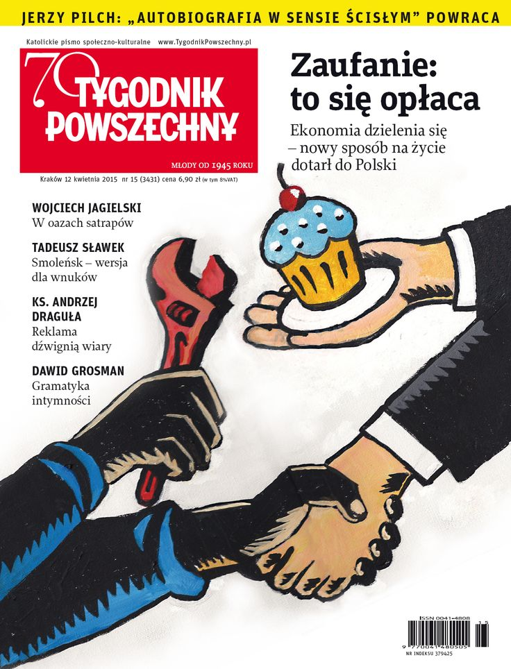 """""""TP"""" 15/15 - już od wtorku w kioskach, a w numerze powrót autobiografii Jerzego Pilcha!"""
