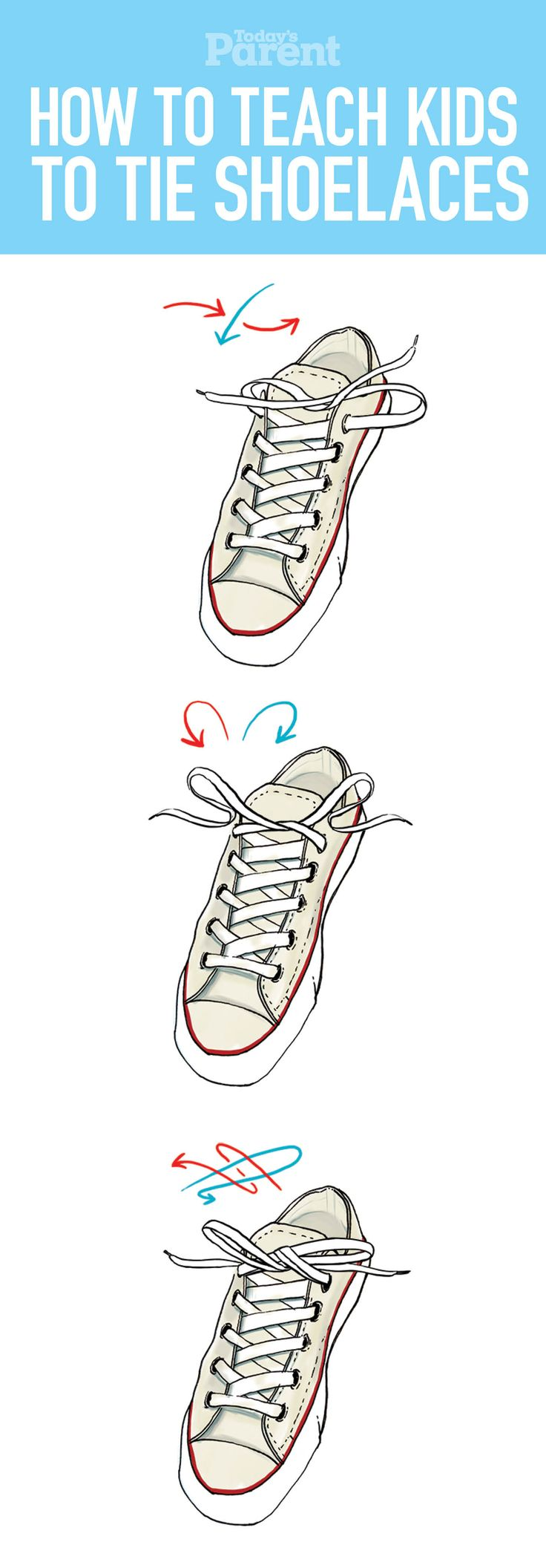 Best Way To Teach Kids To Tie Shoes