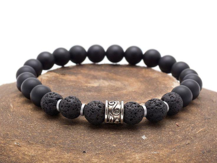 Mens Armbands – Bracelet Men 022 – a unique product by Blackif on DaWanda