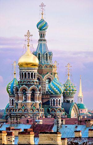 Visiter la russie.