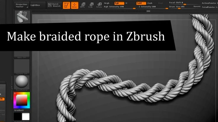 Braided rope, to be used for the winch that pulls the bucket downwards.