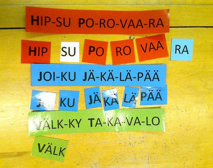 Esiopetuksen äidinkieli