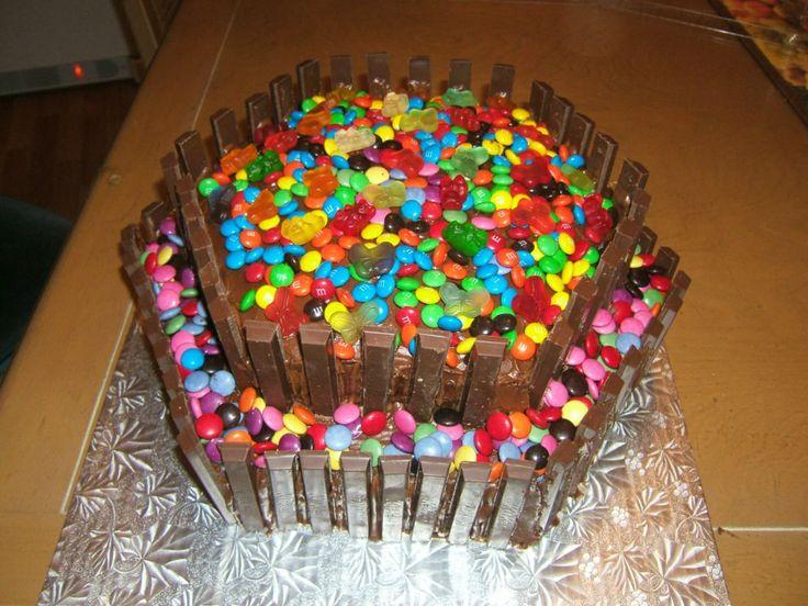 gâteau smarties