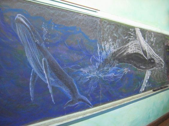 Chalkboard Drawings in the Waldorf Classroom: