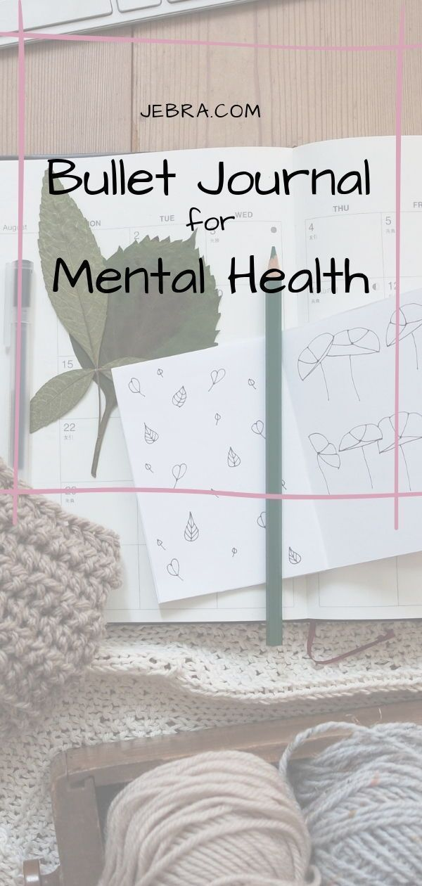 Bullet Journal for Mental Health in 2019