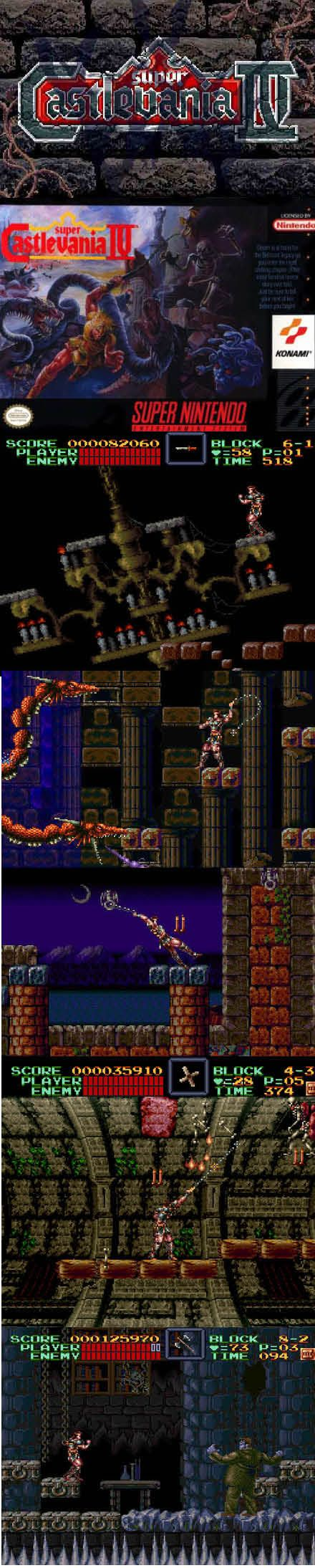 #RetroGamer #SuperCastlevania IV still a great reason to buy a #SNES or a newer #Nintendo system! http://www.levelgamingground.com/super-castlevanina-iv-review.html