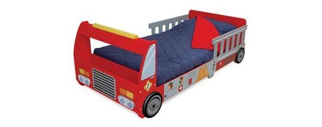 Las 25 mejores ideas sobre camas de camiones de bomberos - Camas divertidas infantiles ...