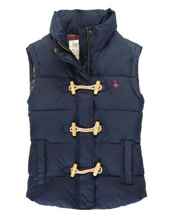 jack wills awesome toggle vest.