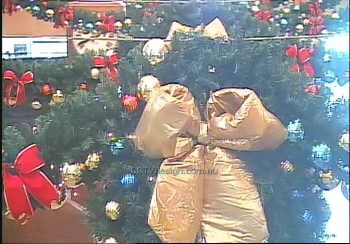 Consider the impact of Christmas decorations on your surveillance cameras.