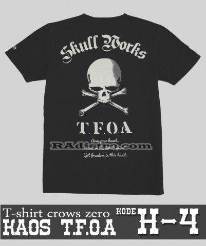 Sedia+Jual T-Shirt TFOA Kode: H-4, -->> Online   --->>, Murah, Keren, Kece, Berkualitas Loh gan :D  --->> Minat?? HUB CS : 087839697949